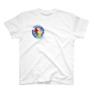 ちょこちとお昼寝 T-shirts