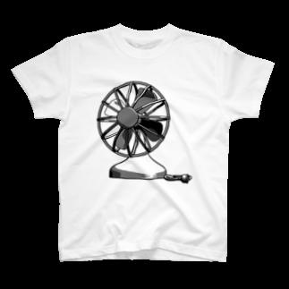 neoacoのElectric Fan T-shirts