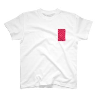 紅い薔薇 T-shirts