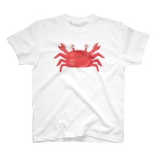 ゆるかわカニ T-shirts