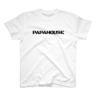 PAPAHOUSE ロゴT T-Shirt