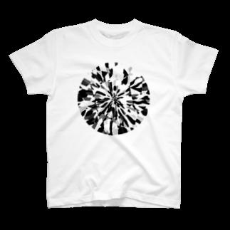 いわゆるペンギンのモノクロダイヤモンド T-shirts