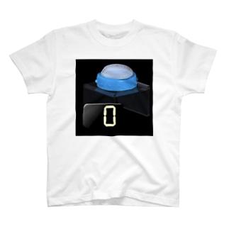 例のボタン T-shirts