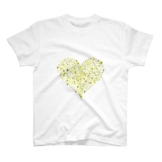Dots Heart(Citrus) T-shirts