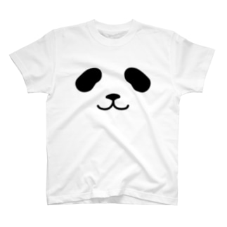 まったりパンダ-フェイス T-shirts