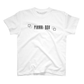 ぴかりBOXロゴ T-shirts