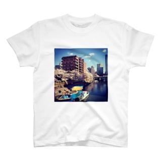 月島 T-shirts