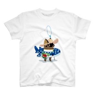 とーとつにエジプト神 夏へのやる気 T-Shirt