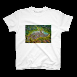 成宮成人のSTARDUST WHALE T-shirts