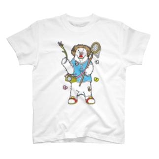 虫とりだ!シロクマだ! T-shirts