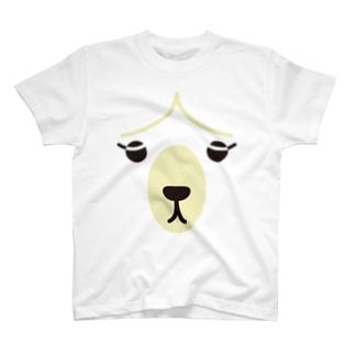 フォーヴァのアルパカ-animal up-アニマルアップ- T-shirts