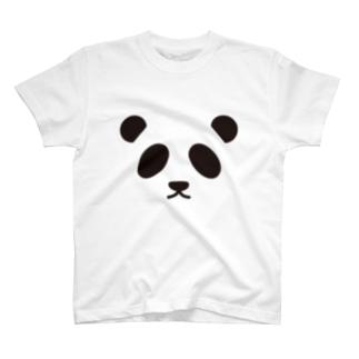 パンダ-animal up-アニマルアップ- T-shirts