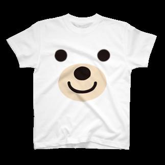 フォーヴァのベアー-animal up-アニマルアップ- T-shirts