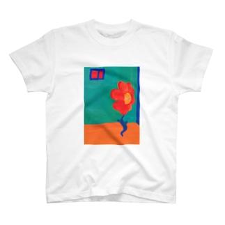 夏のお花ちゃん T-shirts