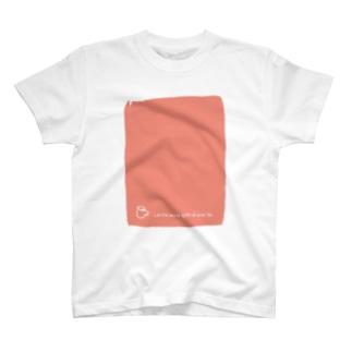 【英語表記版】カフェトーク標語T T-Shirt