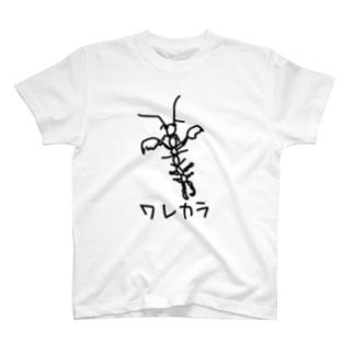 いきものや のの(本館)のワレカラ T-shirts