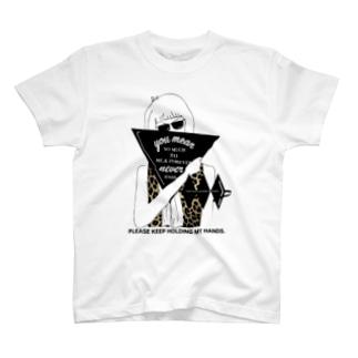 ヒョウとグラサンとアタシ T-shirts