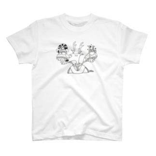 鹿人 T-shirts