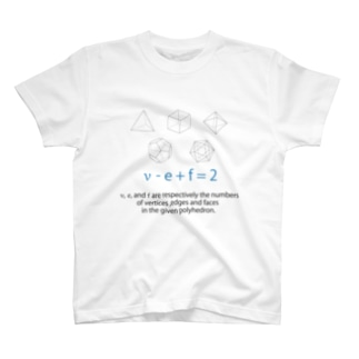 オイラーの多面体定理 T-shirts