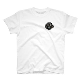 サイケデリック・ワンポイント T-shirts