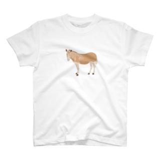 クアッガ(小) T-shirts