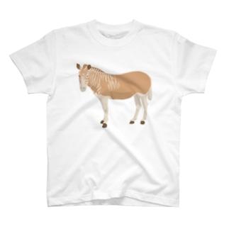 クアッガ(大) T-shirts