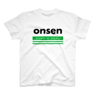 温泉(Source of energy,kg) T-shirts