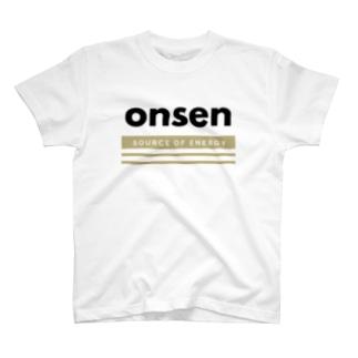 温泉(Source of energy,kb) T-shirts