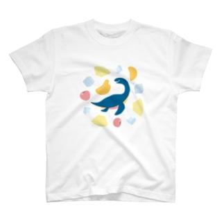 フルーツとソーダのまにまに(淡色) T-Shirt