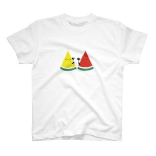 スイカとペンギン T-Shirt