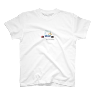氷を囲むてんとう虫 T-Shirt