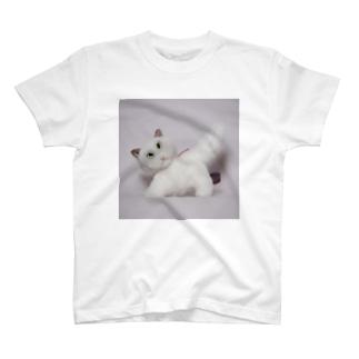 白猫さん T-shirts