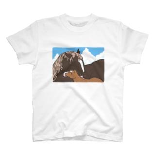 優しいおかさんとぼく T-Shirt