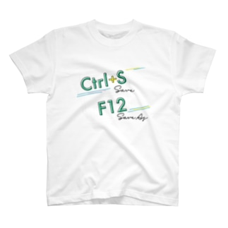 Excelショートカットグッズ〜保存  T-shirts