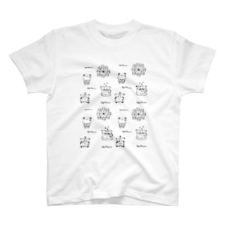 パンダちゃんワールド✩遊園地✩ T-shirts
