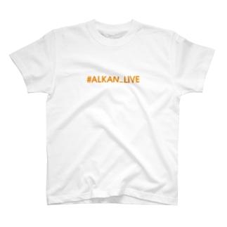 オレンジ文字 T-shirts