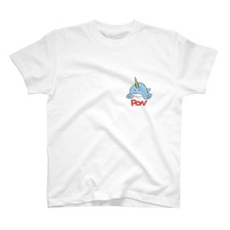 ワンポンイントシャツ T-Shirt