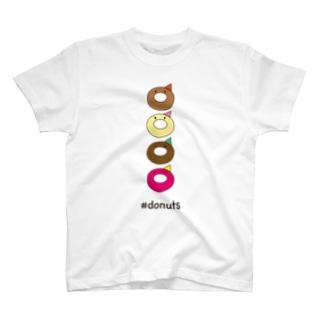 #donuts T-shirts