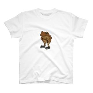カエル(フォーマル) T-shirts