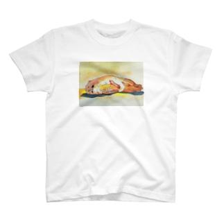 熱帯夜でねむれない T-shirts