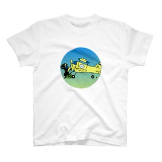 猫ぱいろっと T-shirts