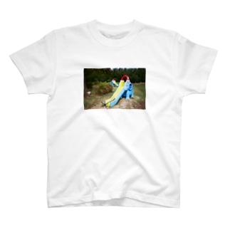 ぞう滑り台 T-Shirt