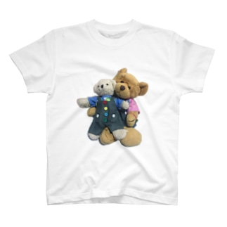 ララとロクイチのお揃いコーデ T-shirts