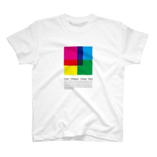 CMYK(white) T-shirts