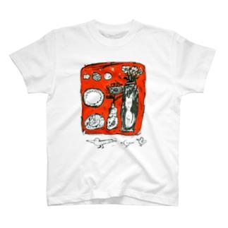壁掛けと、深夜の散歩 T-shirts