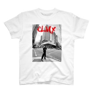 "NEXT LEVEL(s)の""Monochrome"" CLMX T-shirts T-Shirt"