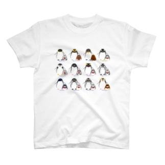 ペンギン親子たち T-Shirt
