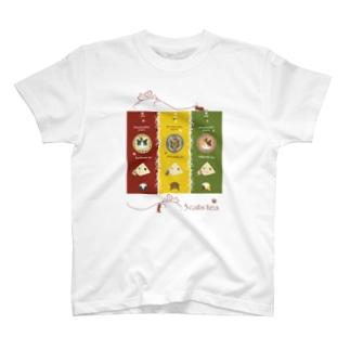 3cats tea(塗りVer.) T-Shirt