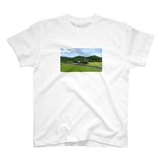 山の中の秘境駅 T-Shirt
