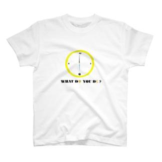 6時の過ごし方 T-shirts